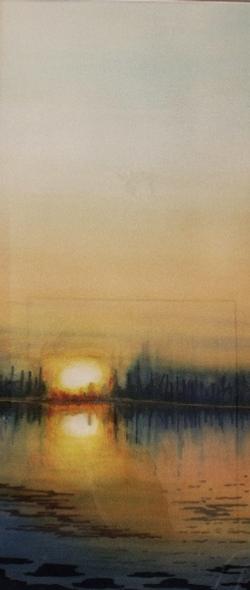 Fin du jour sur Baie Sargent (2008)