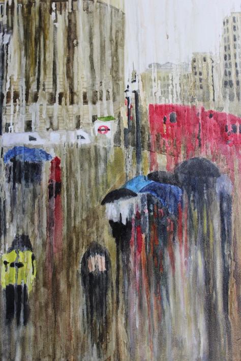 Il pleut sur Trafalgar Square (2014)