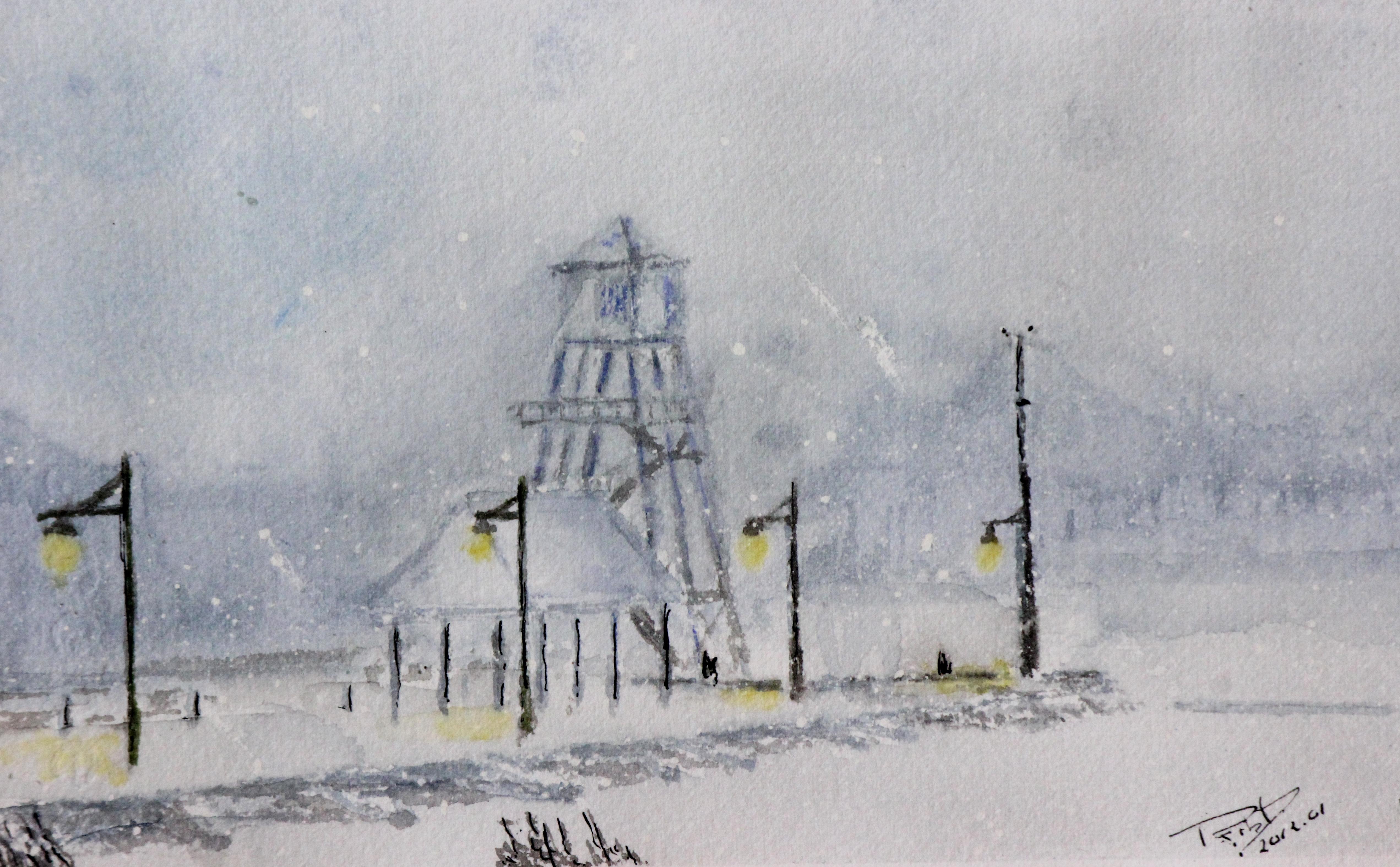Poudrerie sur la tour (2013)