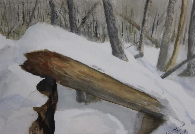 Le tronc brisé (2010)
