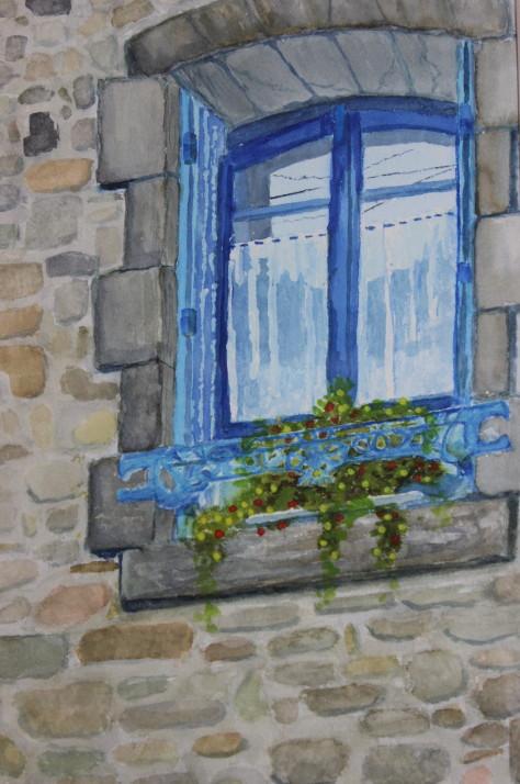 Fenêtre à l'Île-aux Moines (2010)