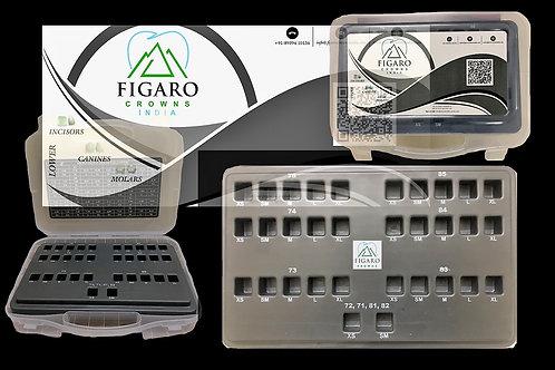FIGARO CROWNS CUSTOMISED KIT ( 20 PCS MINIMUM)