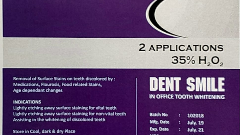IN OFFICE BLEACH - DENT SMILE PACK FOR 2 PATIENTS