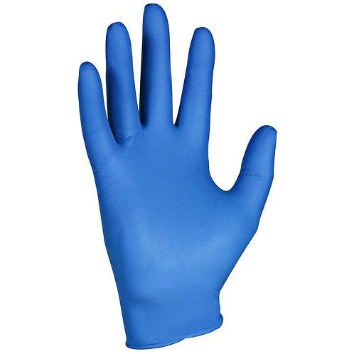 MATIG BLUE/WHITE NITRILE GLOVES