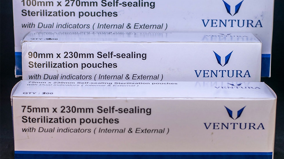 SELF SEALING STERILIZATION POUCHCOMBO PACK OF 300 PCS