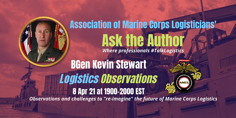 Ask The Author with Brigadier General Kevin Stewart