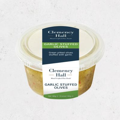 Clemency Hall Garlic Stuffed Olives