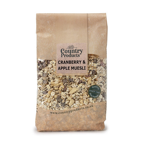 Country Products Cranberry & Apple Muesli