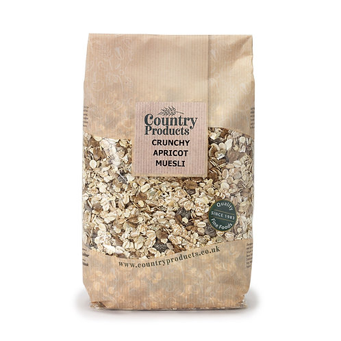 Country Products Crunchy Apricot Muesli