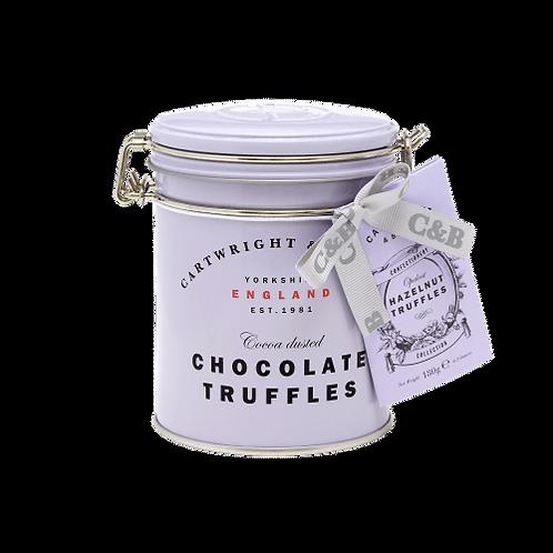 Cartwright & Butler Hazelnut Chocolate Truffles Tin