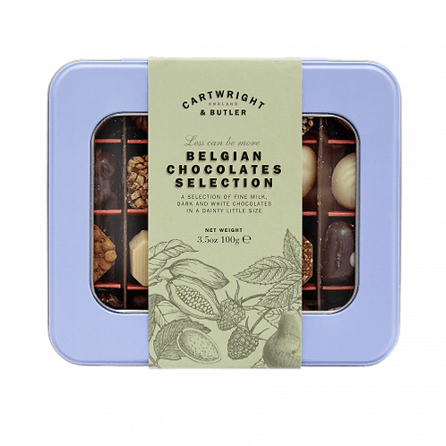 Cartwright & Butler Belgian Chocolates Tin Collection