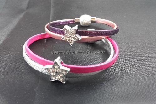 Bracelet Etoile Strass