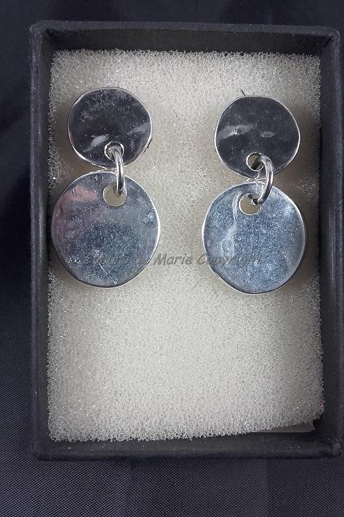 Boucles d'oreilles Petites médailles