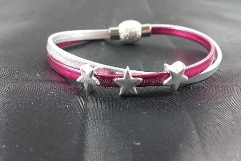 Bracelet trio d'étoiles