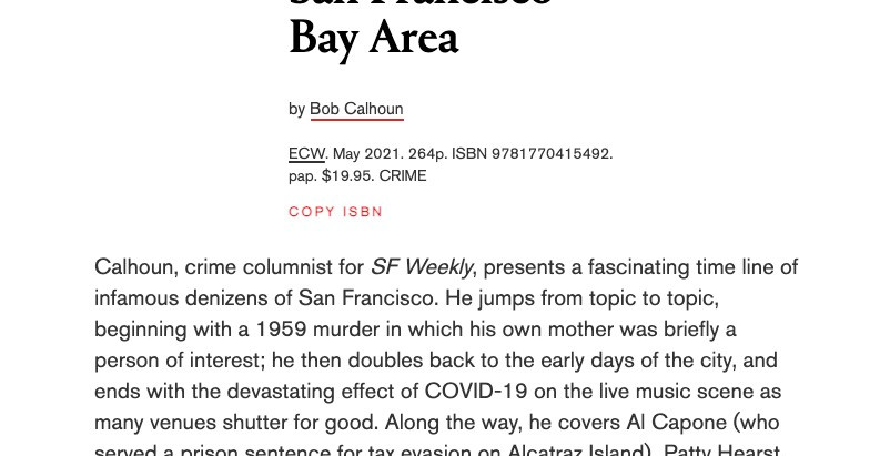 Rave Review from Library Journal!