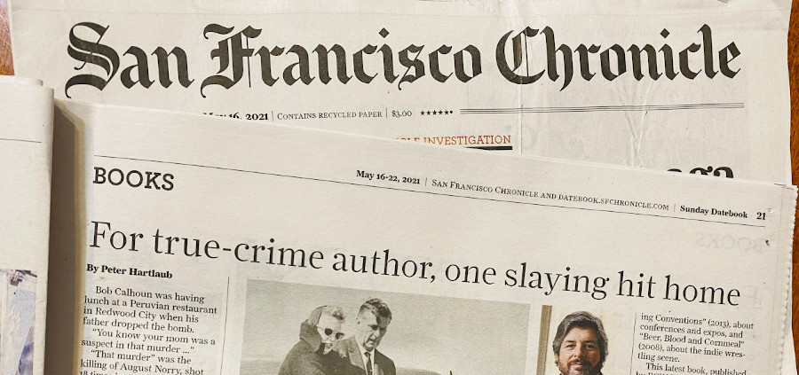 The San Francisco Chronicle reviews The Murders That Made Us