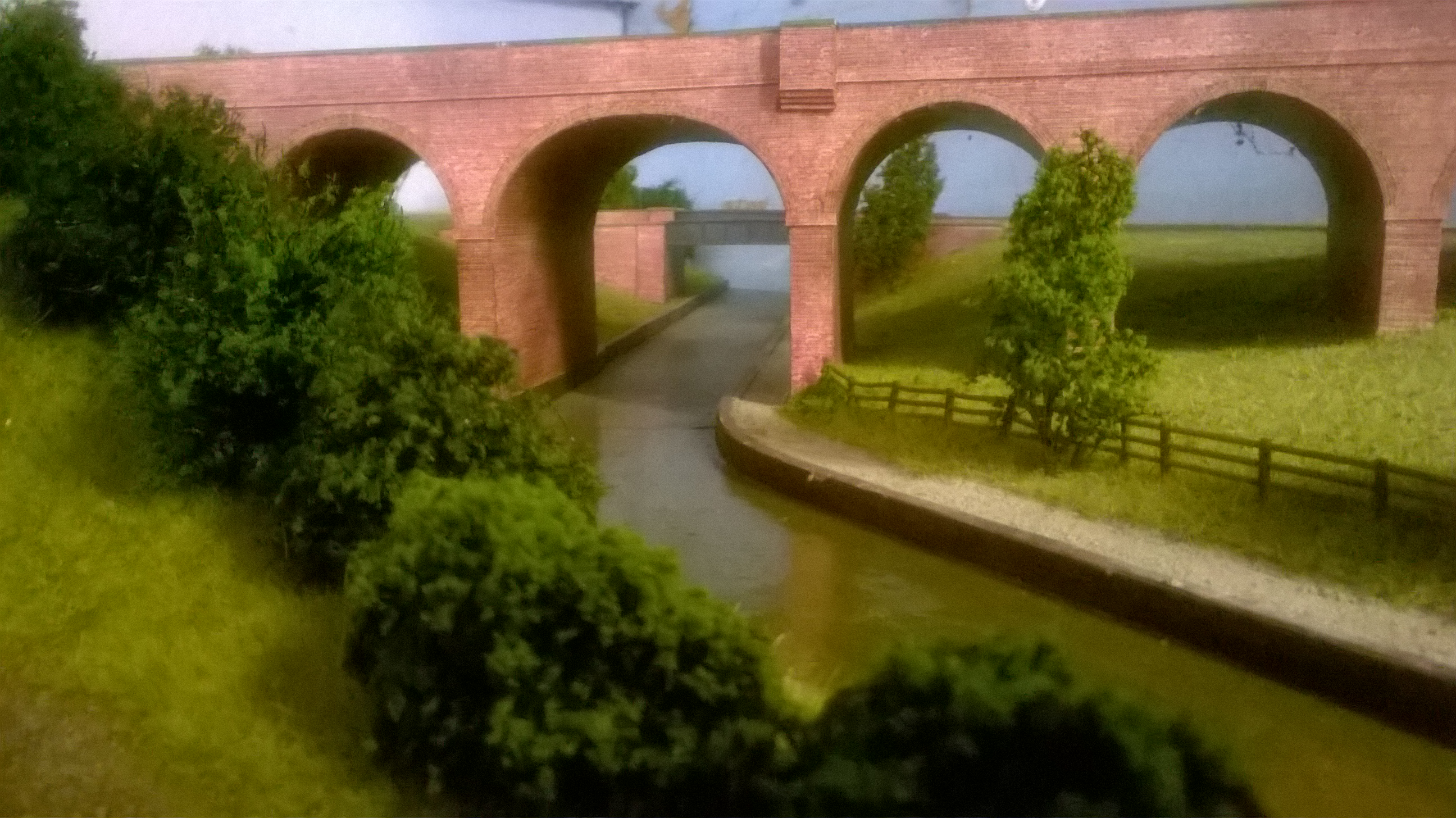 Canal and viaduct