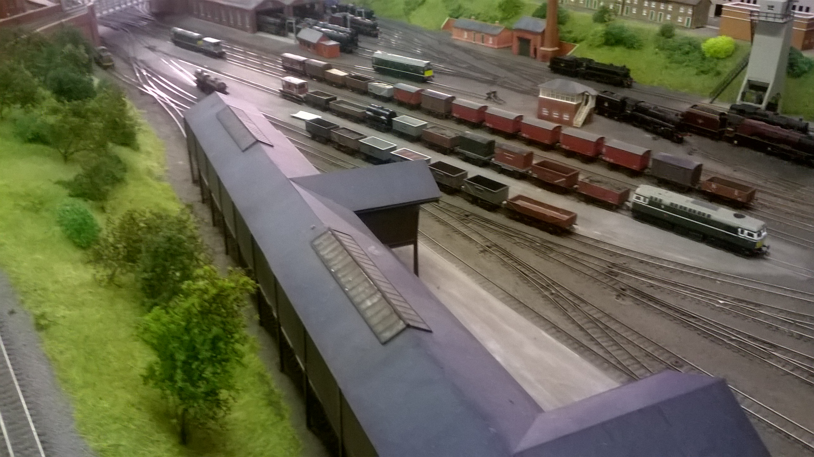 Goods yard and shed