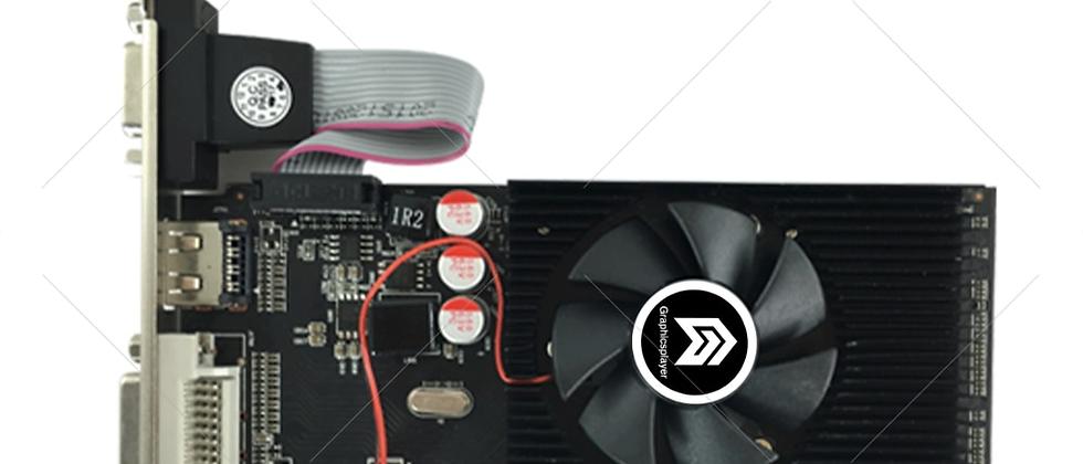 Graphics Card Pci Express HD7450 2GB DDR3 64bit LP Placa De Video Card PC