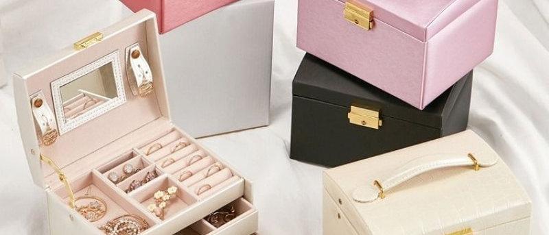 आभूषण आयोजक / बड़े आभूषण बॉक्स / सौंदर्य यात्रा बॉक्स