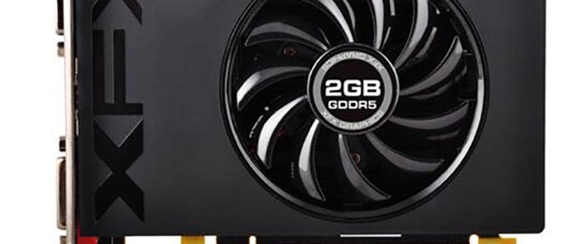 Used XFX Radeon R7 240A 2GB Video Cards GPU for AMD Radeon R7240A GDDR5 128bit