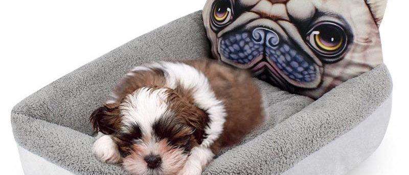 3D Cartoon Cute Animal Cat Dog Camas para Pet Sofá para Pet Dog Sofá para Pet Cat Bed House Suprimentos