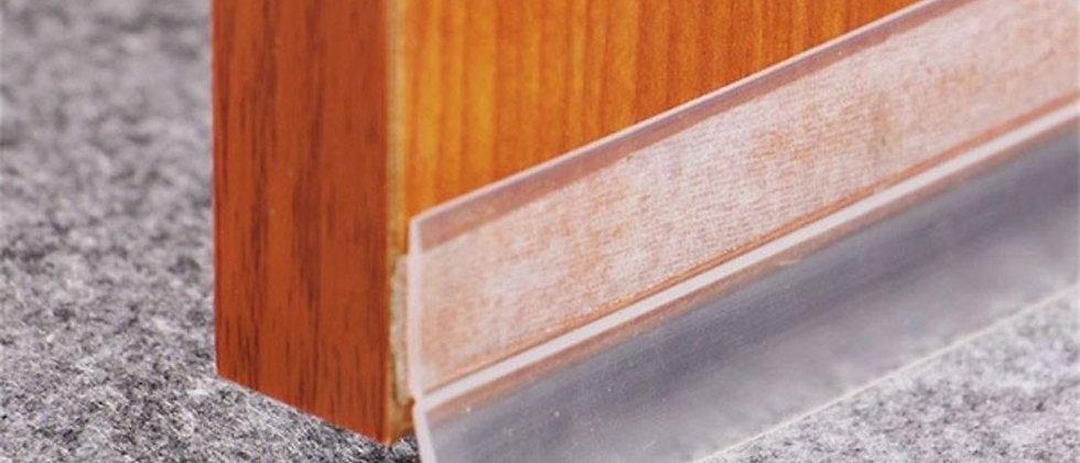 Fita de vedação transparente de silicone à prova de vento de 3-8 m
