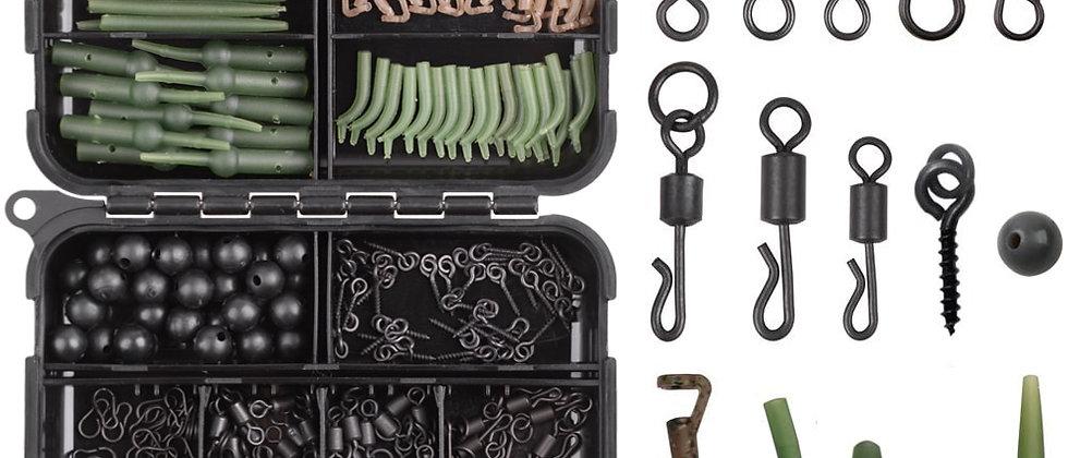 420Pcs / बॉक्स कार्प मछली पकड़ने का सामान किट जिसमें सभी सहायक उपकरण शामिल हैं