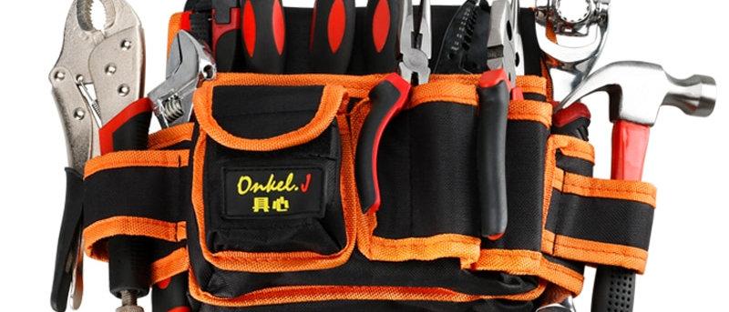 मल्टी-फंक्शनल इलेक्ट्रीशियन ऑर्गनाइज़र टूल्स बैग