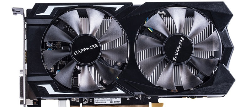 SAPPHIRE Video Card RX 560 4GB GDDR5 Graphics Cards