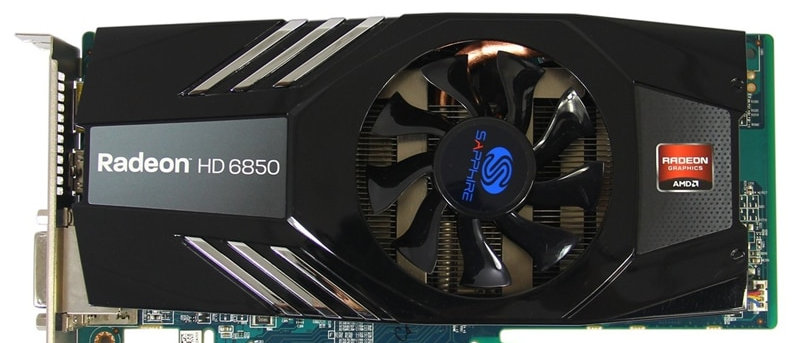SAPPHIRE HD6850 1GB Video Cards GPU AMD Original Radeon HD 6850 GDDR5 Graphics