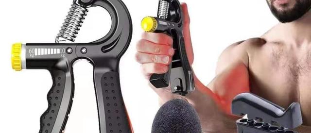 Expansor de fitness ajustável para apertos de mão