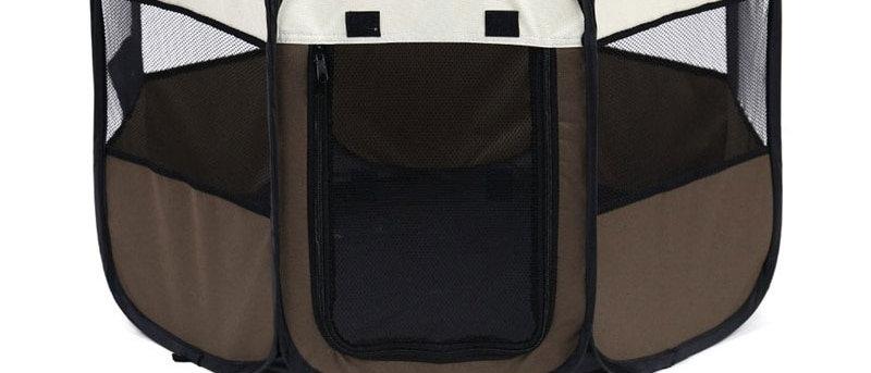 Tenda portátil dobrável para animais de estimação gaiola octogonal