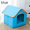 Thumbnail: पालतू कुत्ते के घर कुत्ते केनेल नेस्ट डॉग बिल्ली बिस्तर छोटे मध्यम कुत्तों के साथ Foldable बिस्तर