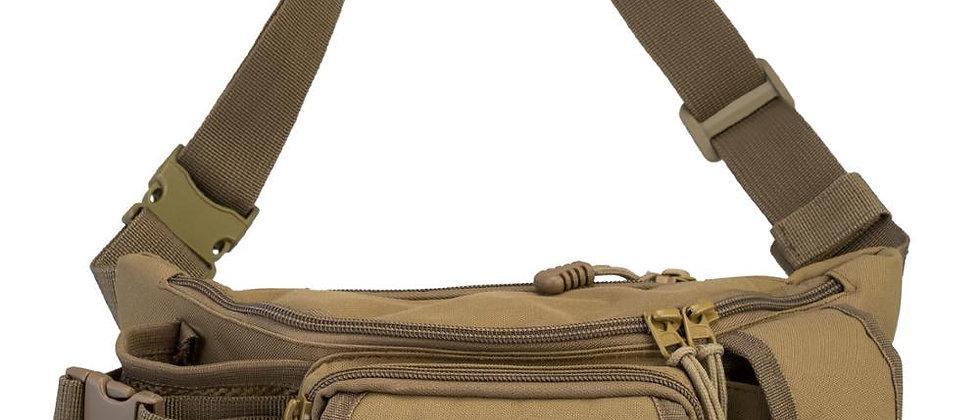 फिशिंग बैग मल्टीफंक्शनल आउटडोर कमर बैग पोर्टेबल कमर पैक मैसेंजर बैग