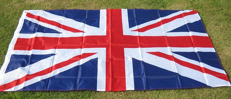 ग्रेट ब्रिटिश बैनर फ्लैग 5 * 3FT 90 * 150 सेमी यूनाइटेड किंगडम नेशनल यूके फ्लैग