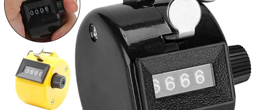 Manual de exibição de dedo de mão de 4 dígitos contadores de números