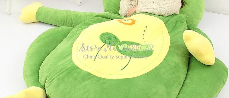 Desenho animado animal fofo cama de criança l assento-cama almofada removível e lavável