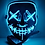 Thumbnail: Máscara Led Máscara de Halloween Party Masquerade Máscaras