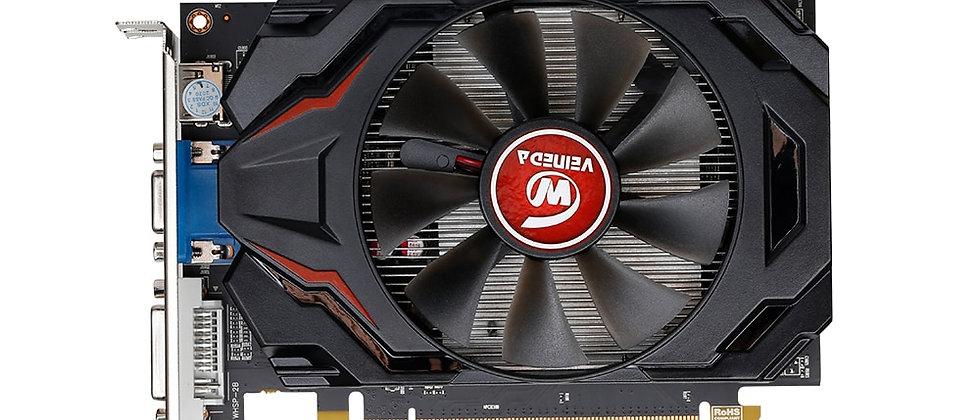 Veineda Graphics Card R7 350 2GB GDDR5Desktop GPU 128Bit Independent Game Video
