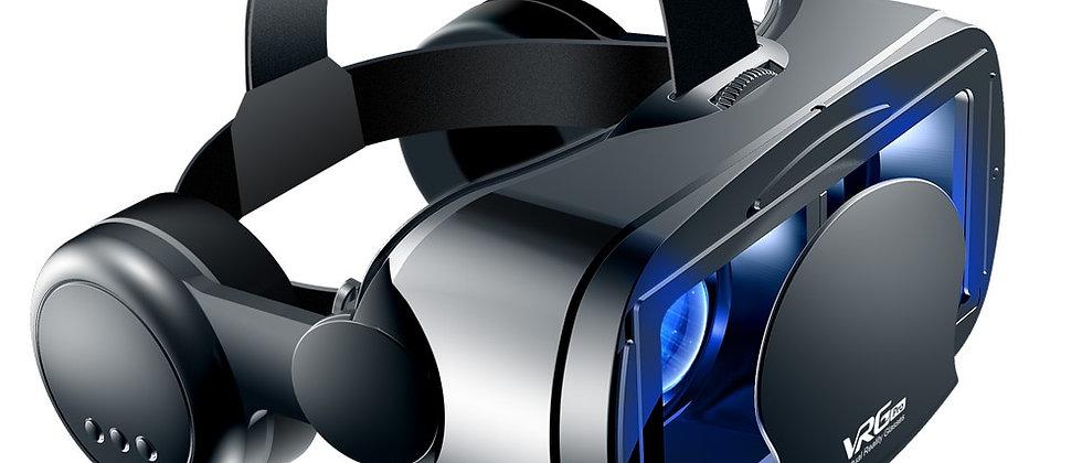Óculos de realidade virtual de capacete virtual para smartphones 3D de 5 a 7 polegadas