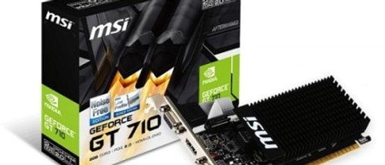 MSI GT 710 2 GD3H 2GB LP DDR3 64Bit DVI/HDMI/VGA GRAPHIC CARD
