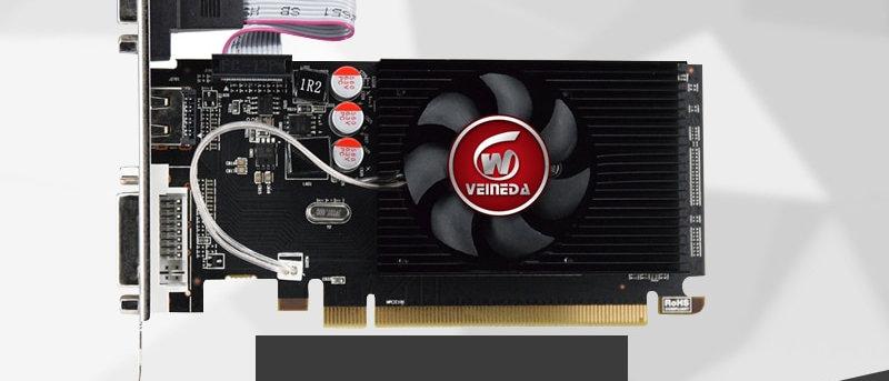 Veineda Graphics Cards Original GPU HD6450 2GB DDR3 64Bit  VGA Video Cards
