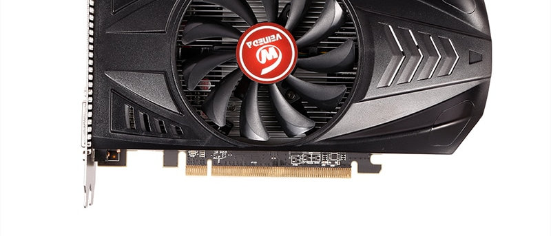VEINEDA वीडियो कार्ड Radeon RX 550 4GB GDDR5 128 बिट ग्राफिक्स कार्ड PCI
