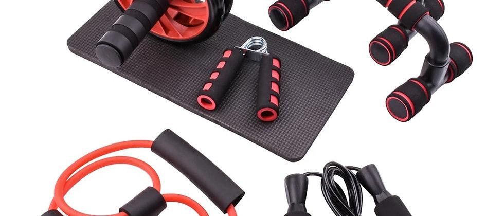 व्यायाम उपकरण आपको गर्मियों के लिए तैयार होने में मदद करने के लिए! रोलिंग, हैंड ग्रिप्स, स्किपिंग