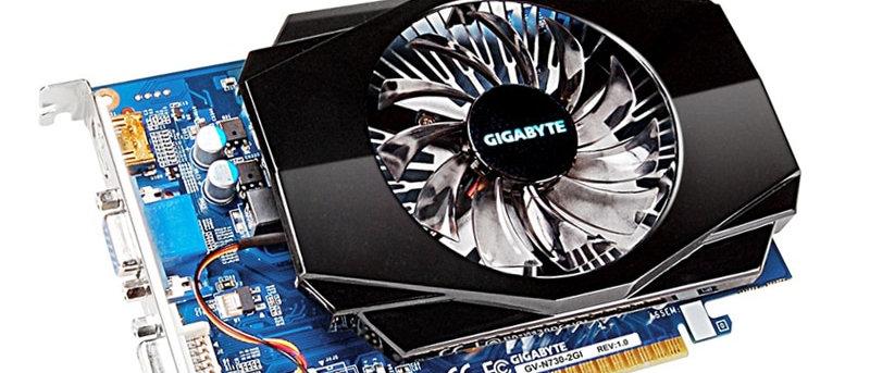 गीगाबाइट GT 730 2GB वीडियो कार्ड NVIDIA GTX 2GB ग्राफिक्स कार्ड DVI VGA बोर्ड