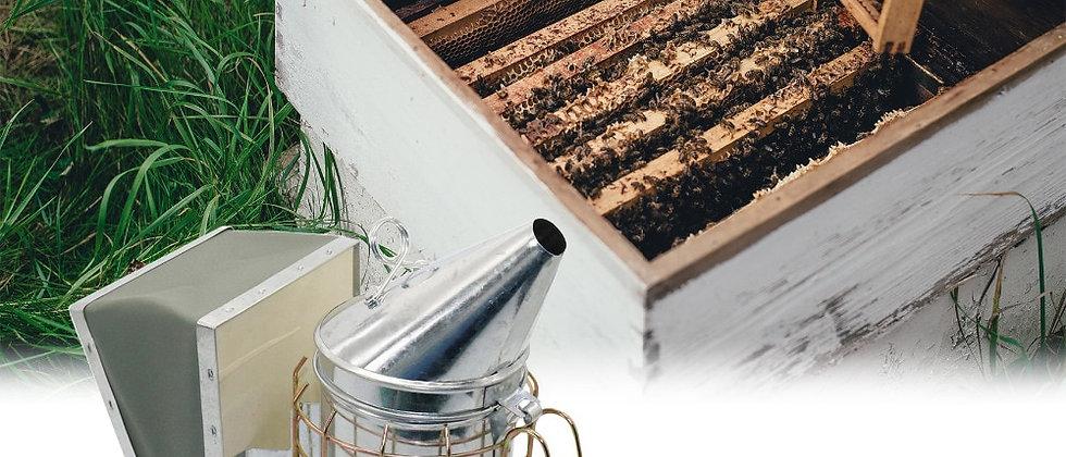 Stainless Steel Smoke Sprayer Bee Smoker Apiculture Beekeeper Dedicated Smoked