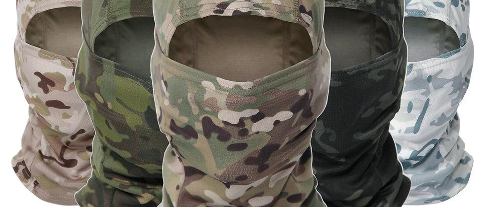 सामरिक छलावरण Balaclava पूर्ण चेहरा मास्क, सैन्य