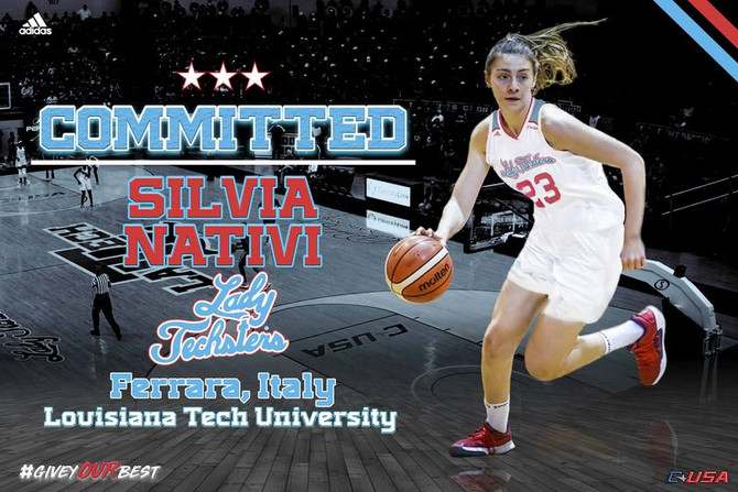 La Louisiana Tech firma Silvia Nativi