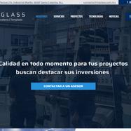 TN Glass - Creación de sitio web